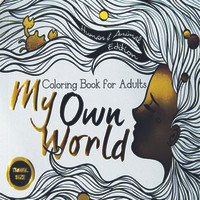 Jual Coloring Book For Adults My Own World 1 Travel Size Murah
