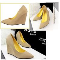 harga 70341 Yellow Heel Beludru 10cm Sepatu Import Wanita/high Heels/batam Tokopedia.com