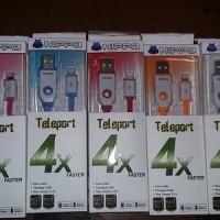 Kabel Teleport Hippo IPhone 5/6, IPad Mini Apple Lighting 90cm Cable