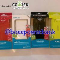 ... harga Romoss Powerbank Solo 3 - 6000mah Tokopedia.com