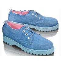 Sepatu Dokmar Casual Flat Shoes Wanita Cewek Tali Trendy FT714
