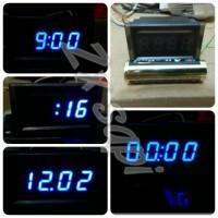 harga Jam digital biru12v utk motor/mobil, WATERPROOF! Tokopedia.com