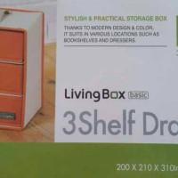 Lock&Lock Living Box 3 Shelf Drawer