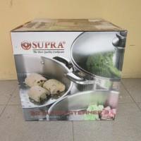 SUPRA Super Steamer Susun 3 32cm & Glass Lid (Tutup Kaca) / Pengukus