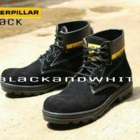 Sepatu Boots Caterpillar Safety Black