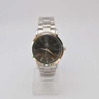 Jam tangan pria CK diagram stainless steel