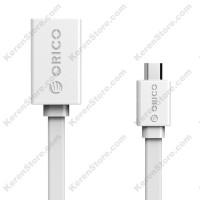 Orico Micro USB To USB 2.0 Female USB Cable Adapter - COF2-15 - White