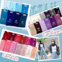 harga Cardigan Candies Kerah Bulat Kancing Tokopedia.com