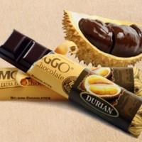 Jual Durian Duren Cokelat Coklat Chocolate Monggo Jogja Bar 40 gram Murah