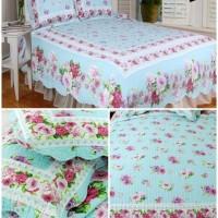 harga Bed Cover Cotton Quilt Set Tokopedia.com