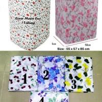 Cover Mesin Cuci 1 Tabung Buka Atas (Pelindung Mesin Cuci Tahan Air)