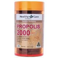 READY STOCK - Healthy Care Propolis 2000mg - 200 kapsul