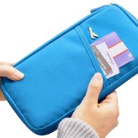 Travel Wallet Waterproof Passport Document Holder