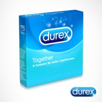 Kondom durex together isi 3 condom alat kontrasepsi