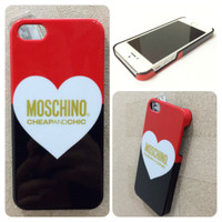 iPhone 5 5S MOSCHINO Polycarbonate Case