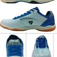 harga SEPATU BADMINTON/BULUTANGKIS/TENNIS/OLAHRAGA KETA 108 WHITE LT.BLUE Tokopedia.com