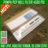 Pompa Senapan Angin PCP BULL Filter Kaki Lipat Stainless - Hillpump