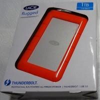 LACIE 1TB RUGGED THUNDERBOLT USB 3.0 HARDDISC EXTERNAL HARDDISK HDD 35