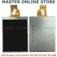 New LCD Display Screen Part Kamera Digital Casio EX-ZS5 Z27 Z88 Harga