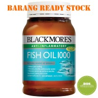 READY STOCK - Blackmores Fish Oil 1000mg 200 capsules