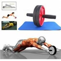 harga Fitness Double Wheel Roller Abdominal Exercise AB / Alat Roda Perut Tokopedia.com