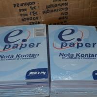 Buku Nota Kontan E-Paper 2 PLy Isi 25 Lembar