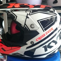 harga Helm Kyt Cross Super Fluo Tokopedia.com