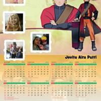 Kalender Foto Custom Naruto