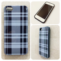 iPhone 5 5S Burberry Black Hitam Softcase Casing Branded Case
