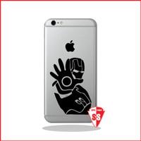 Jual Super Sticker Decal Iphone Ironman 1 Murah