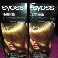 Syoss Medium Ash Blonde 7-1