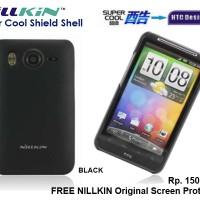 Hardcase HTC Desire HD A9191 : NILLKIN Super Cool Case (+FREE SP)