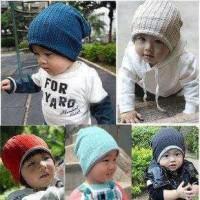 Topi Kupluk Bolak-Balik MJ Baby