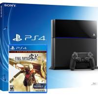 PS4 500GB + Final Fantasy Type O HD Reg3