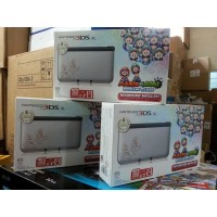 3DS XL Silver Mario&Luigi Dream Team [Pre-Installed]