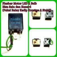 Flasher Led Sein / Hazard Electric Relay Kedip Konstan/Normal