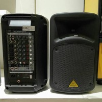 Behringer EPS500MP3 [ EPS 500 MP3 ] 500W 8 Channel Speaker Portable PA