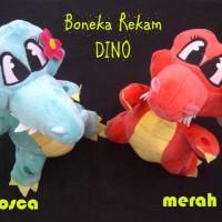 Boneka rekam Crocodile Buaya Lucu Pasangan Couple Recorded Toys - A1