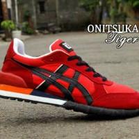 harga Sepatu Onitsuka Tiger Warna Merah List Hitam Tokopedia.com