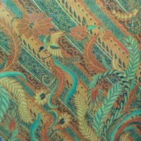 kain pantai khas bali motif batik