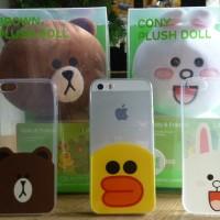 harga Casing Iphone 5/5s, Iphone 6/6s, Iphone 6+ Softcase Line Edition Tokopedia.com