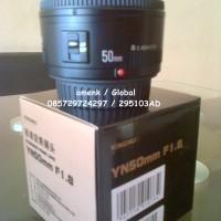 Lensa fix YONGNUO EF YN 50mm 1.8 Untuk camera CANON