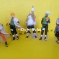 Naruto Set 5 Karakter (Naruto, Minato, Killer B, Kakashi, Sasuke)