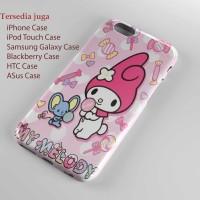 Sanrio My Melody Candy Notebook Hard case Iphone case dan semua hp