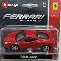Diecast Ferrari 458 Italia Burago