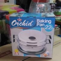 Baking Pan Orchid 22cm