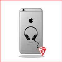 Jual Super Sticker Decal Iphone Earphone Murah