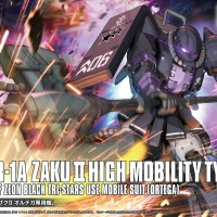 HG Origin 1/144 MS-06R-1A Zaku II High Mobility Type (Ortega)