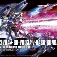 HGUC 1/144 LM312V04+SD-VB03A V-Dash Gundam