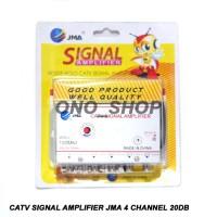 CATV Signal Amplifier ( Booster ) JMA 4 Channel 20dB